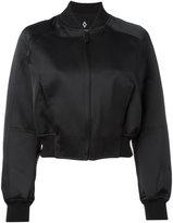 Marcelo Burlon County of Milan Amarau bomber jacket - women - Polyamide/Polyester/Viscose - XS