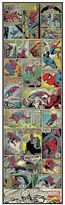 Marvel Comic Panel Spider-Man Peel and Stick 1.5-Foot x 5-Foot Panel
