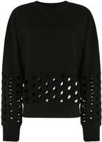 Maison Margiela cut-out detail sweatshirt