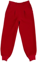 Chloé Red Wool Trousers