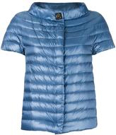 Herno high neck shortsleeved jacket