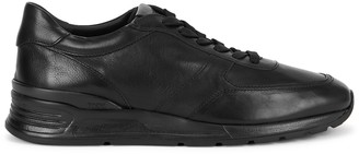 Tod's Urban Sport black leather sneakers
