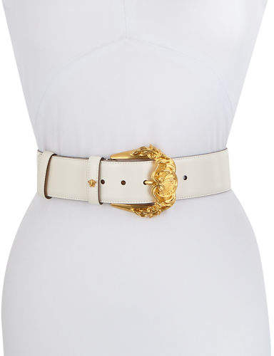 4675256d3b Baroque Buckle Leather Belt