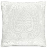 "J Queen New York Bianco 18"" Square Decorative Pillow"
