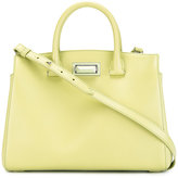 Max Mara clasp fastening tote - women - Leather - One Size
