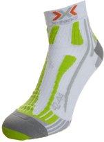 X Socks Run Speed Two Sports Socks White/green Lime