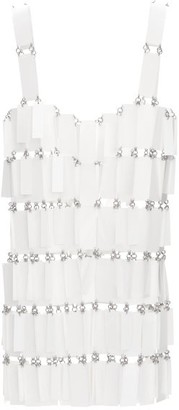 Paco Rabanne Sequinned Chainmail Top - Womens - White
