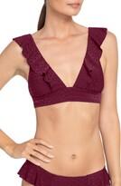 Robin Piccone Julianna Ruffle Bikini Top