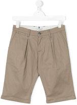 Paolo Pecora Kids - teen chino shorts - kids - Cotton/Spandex/Elastane - 16 yrs