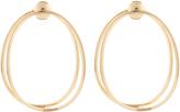 Delfina Delettrez Yellow-gold Ear-Eclipse medium earrings