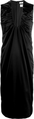 Bottega Veneta Sleeveless Ruched Dress