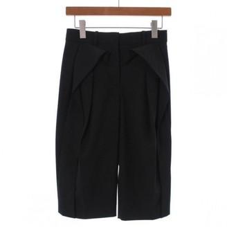 Balenciaga Black Cotton Shorts for Women