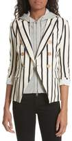 Veronica Beard Empire Stripe Dickey Jacket