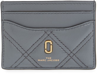 Marc Jacobs The Quilted Leather Card Case