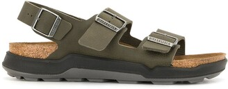 Birkenstock Milano buckled sandals