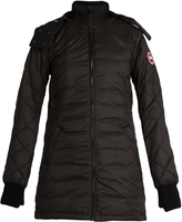 Canada Goose Stellarton hooded quilted down coat