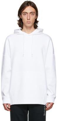 HUGO BOSS White Oversized Hoodie