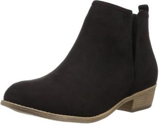 Brinley Co. Women's Ankle Boot black 7 Regular US