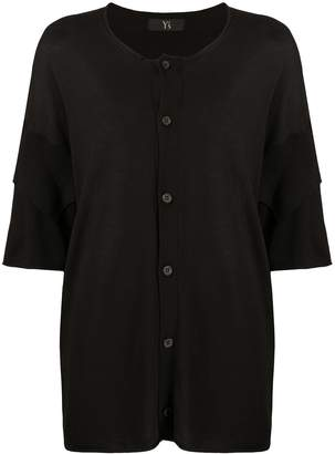 Y's Double-Layered Short Sleeved Cardigan