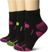 Dr. Scholl's Women's 3-Pairs Health Strides Tri-Zone Ankle Socks