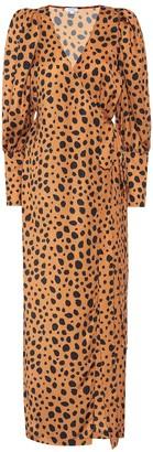 Rhode Resort Printed wrap dress