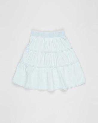 Eve's Sister - Girl's Blue Mini skirts - Carolina Skirt - Kids - Size 3 YRS at The Iconic