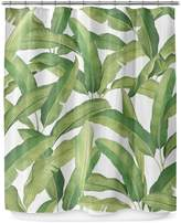 Kavka Designs Banana Leaves Shower Curtain