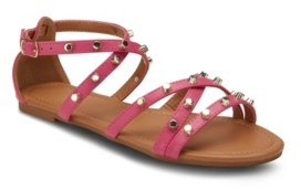 OLIVIA MILLER Markle Sparkle Studded Sandals Women's Shoes