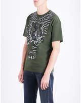 Kenzo Geo Tiger Cotton-jersey T-shirt