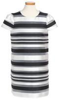 Milly Minis Toddler Girl's Chloe Illusion Stripe Shift Dress