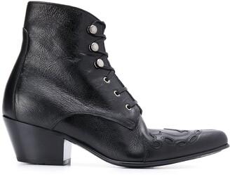 Saint Laurent Susan ankle boots