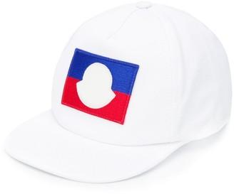 Moncler Enfant Logo Embroidered Baseball Cap