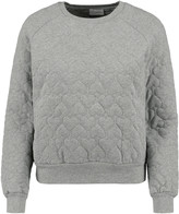 RED Valentino Quilted cotton sweatshirt