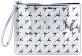 Giuseppe Zanotti Design The Signature Margery clutch bag - women - Polyester/Polyurethane - One Size