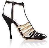 Nina Ricci WOMEN'S SUEDE & LEATHER STRAPPY SANDALS