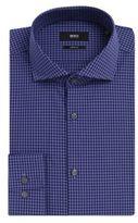 Hugo Boss Mark US Sharp Fit, Cotton Dress Shirt 14.5/R Purple