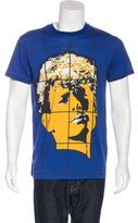Moschino Face Print T-Shirt w/ Tags