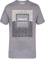 Hurley Men's Water Premium-Print Logo T-Shirt
