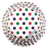 Wilton 100 Count Dots Mini Baking Cup Liner