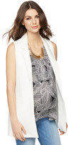 A Pea in the Pod Open Front Crepe Maternity Vest