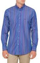 Paul & Shark Long Sleeve Multi P & S Signature Stripe Shirt