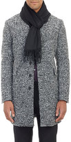 Barneys New York Men's Cashmere Scarf-BLACK