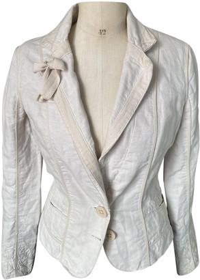 Essentiel Antwerp Ecru Cotton Jackets
