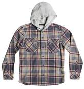 Quiksilver Hooded Tang Plaid Flannel Shirt