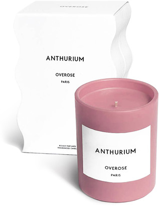Overose Pink-Anthurium Scented Candle, 220g