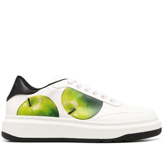 Paul Smith Apple Print Low-Top Sneakers
