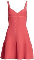 Herve Leger Ribbed Mini Dress
