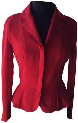 Anna Molinari Red Jacket for Women