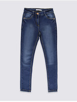 Marks and Spencer Cotton Rich with Stretch Super Skinny Jeans (3-14 Years)