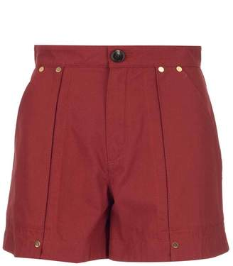 Chloé Classic High Waist Flared Shorts